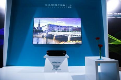 市场上每卖出10台激光电视,就有9台来自<font>海信</font>