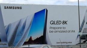 三星广告牌显示 将推出8K级别QLED屏幕<font>电视</font>