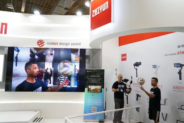 造访热情活力的自由之国 智云科技出展巴西SET EXPO 2018