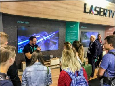 <font>海信</font>2018IFA展推激光全系列产品 将在15国全新上市