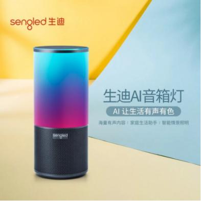 Sengled生迪携手<font>百度</font>发布中国首款智能音箱灯