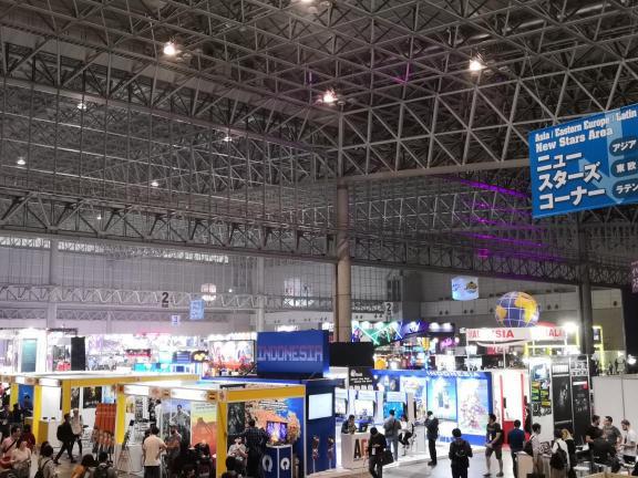 Scry受邀参加Tokyo Game Show国际展