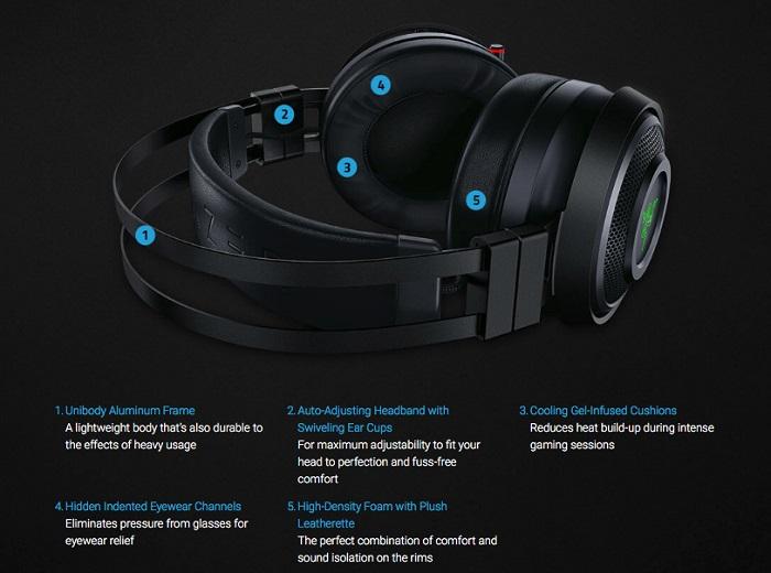 耳机也能触感反馈 雷蛇<font>电竞耳机</font>加入物理震动
