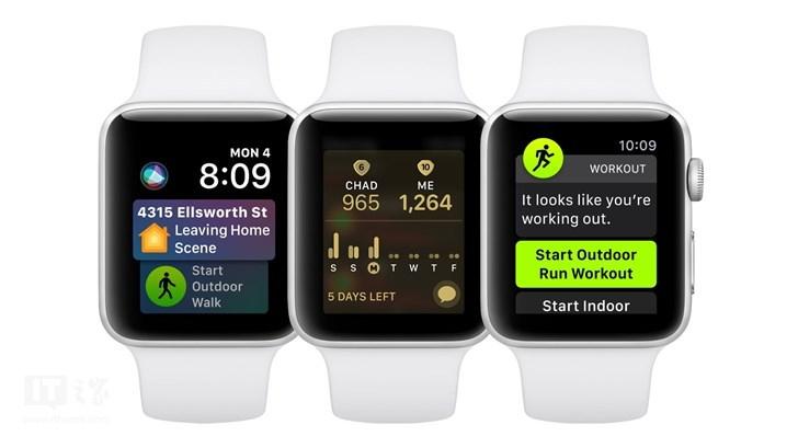 苹果推送watchOS 5.<font>0</font>.1更新