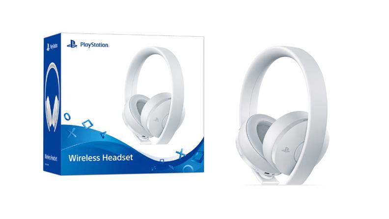 国行PS4新款白色<font>无线耳机</font>组将于12月7日发售