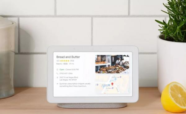 <font>谷歌</font>首款带屏智能音箱来袭,屏幕竟成第二波智能音箱之争的焦点?