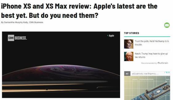 创新乏力只是原因之一,看CNN这样评价新iPhone