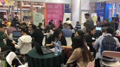 小禾科技携爱校、爱学系统亮相南京培朗博览会,用科技赋能教培机构发展