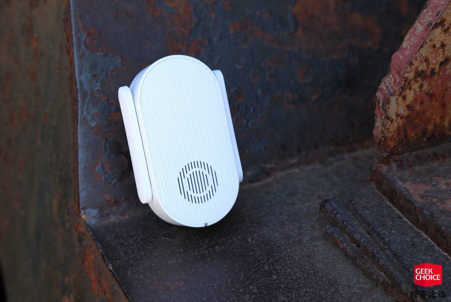 这个能面部识别远程报警的门铃,可以让你安心出门