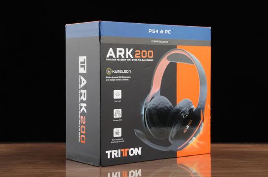 双发声单元设计 TRITTON ARK 200 方舟无线电竞游戏耳机评测