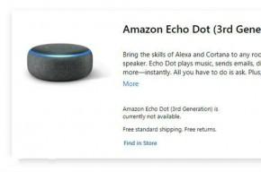 微软商城开卖亚马逊Echo Dot 你好小娜